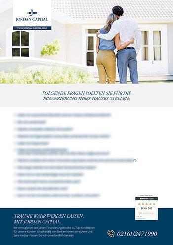 Checkliste für eine Hausfinanzierung