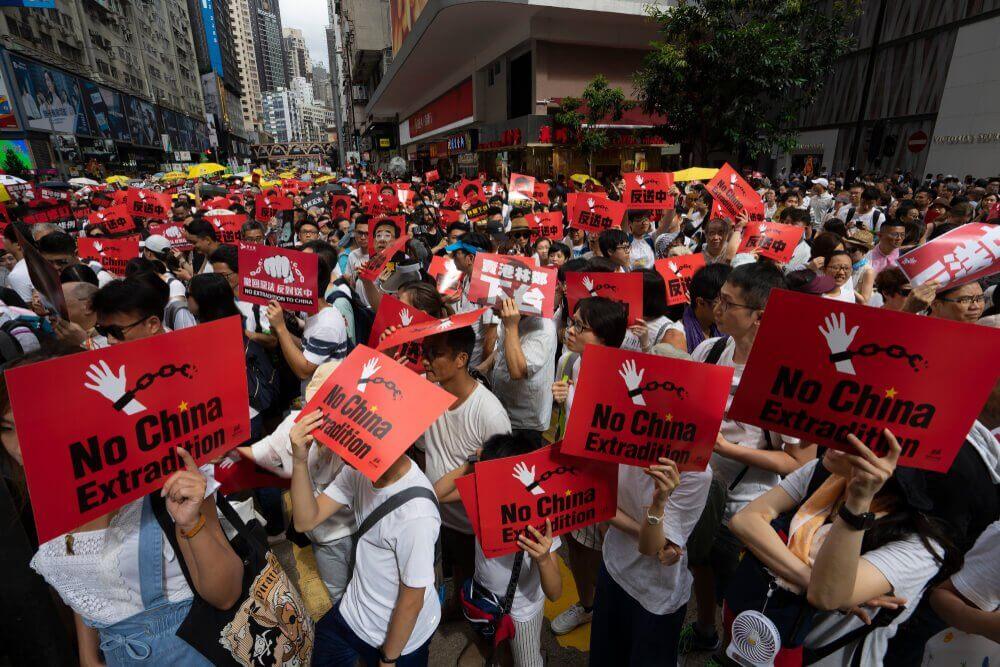 Proteste in Hong Kong und ihre wirtschaftlichen Auswirkungen